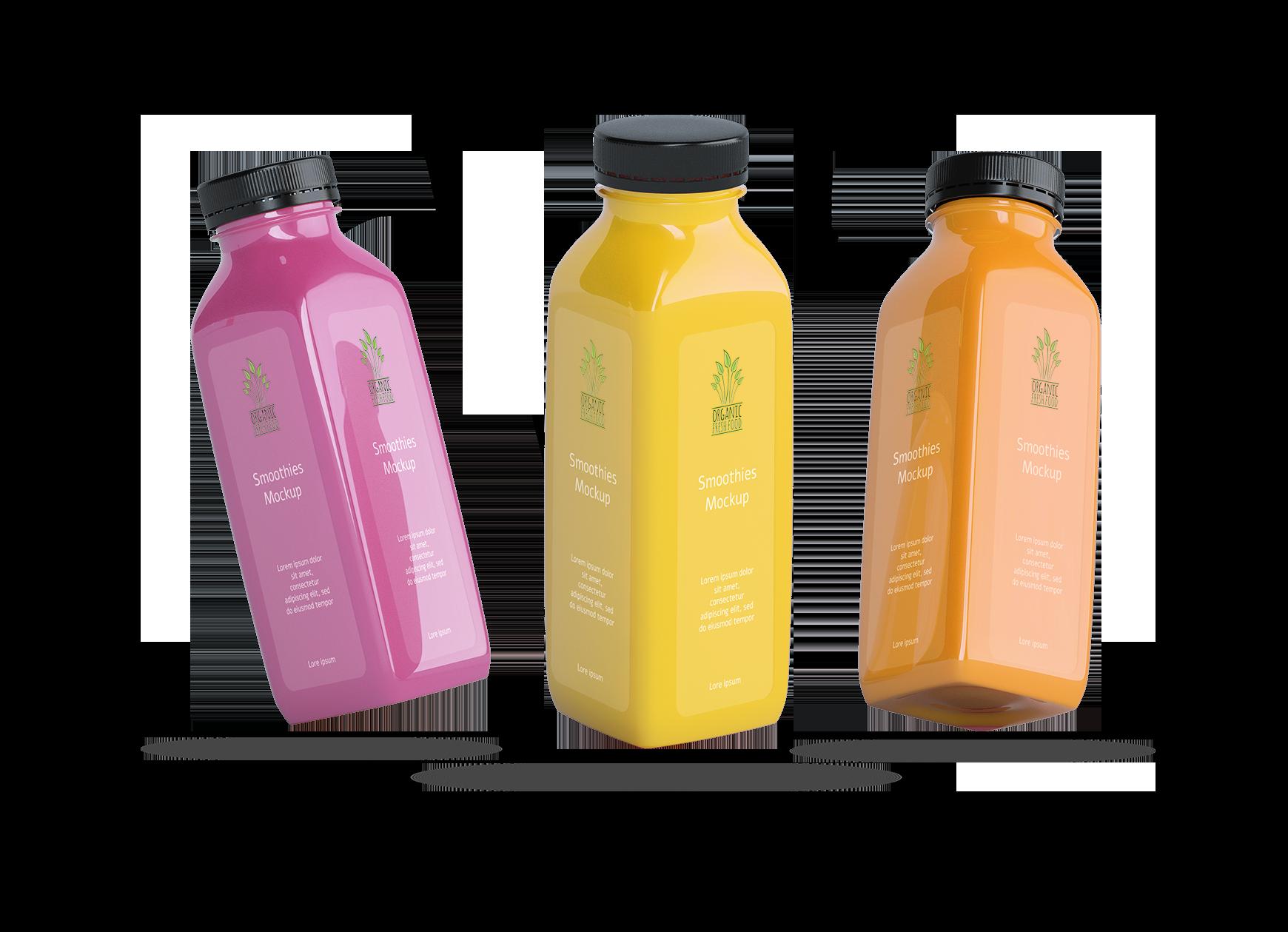 Organische smoothies - V2